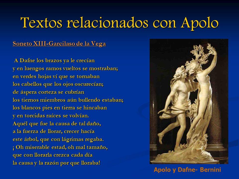 Textos relacionados con Apolo