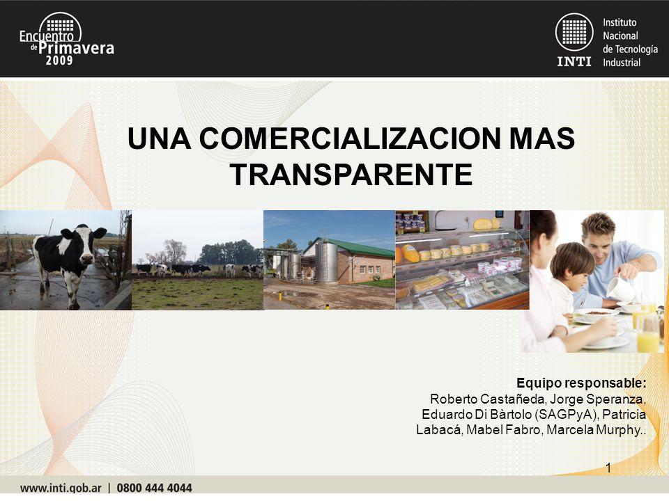 UNA COMERCIALIZACION MAS TRANSPARENTE