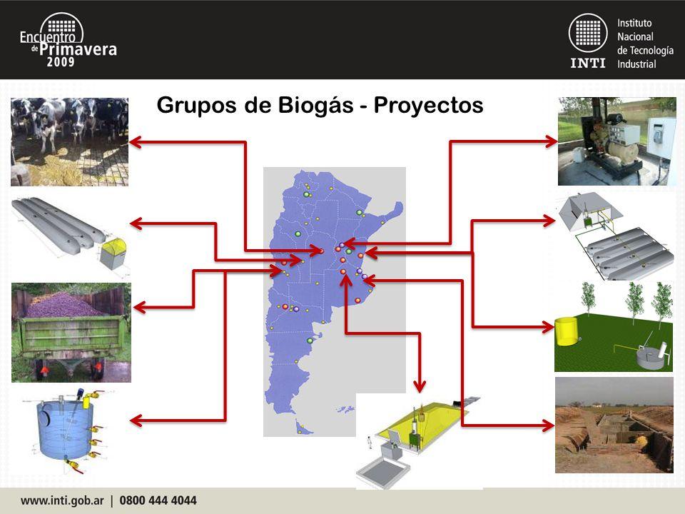 Grupos de Biogás - Proyectos