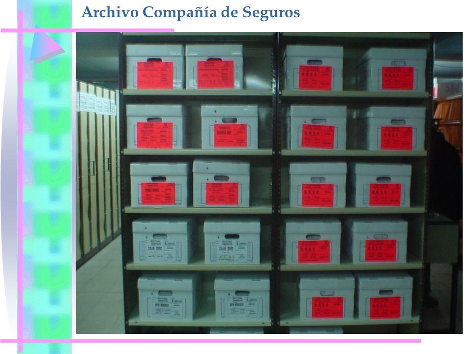 Archivo Compañía de Seguros