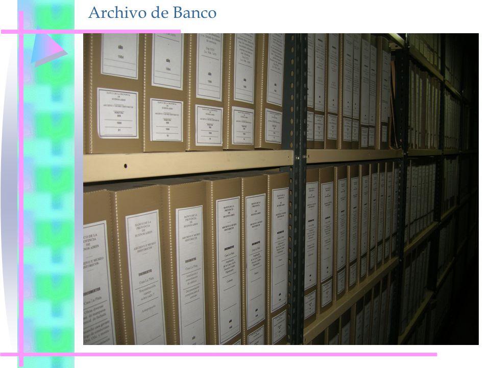 Archivo de Banco