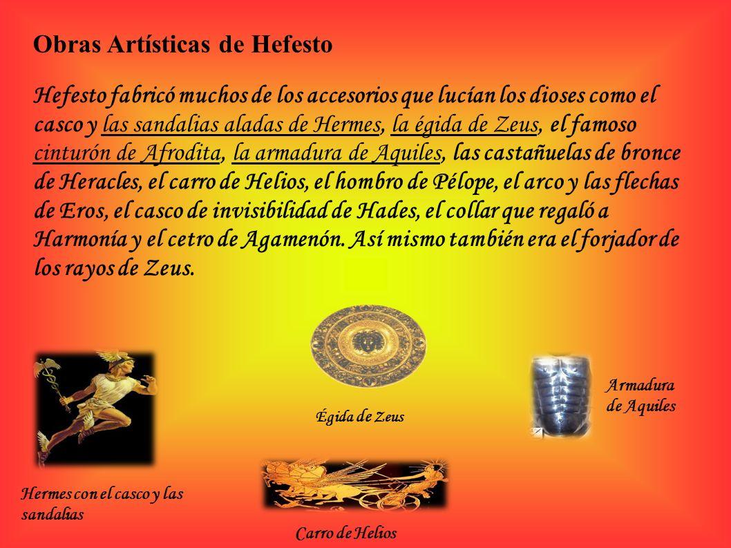 Obras Artísticas de Hefesto