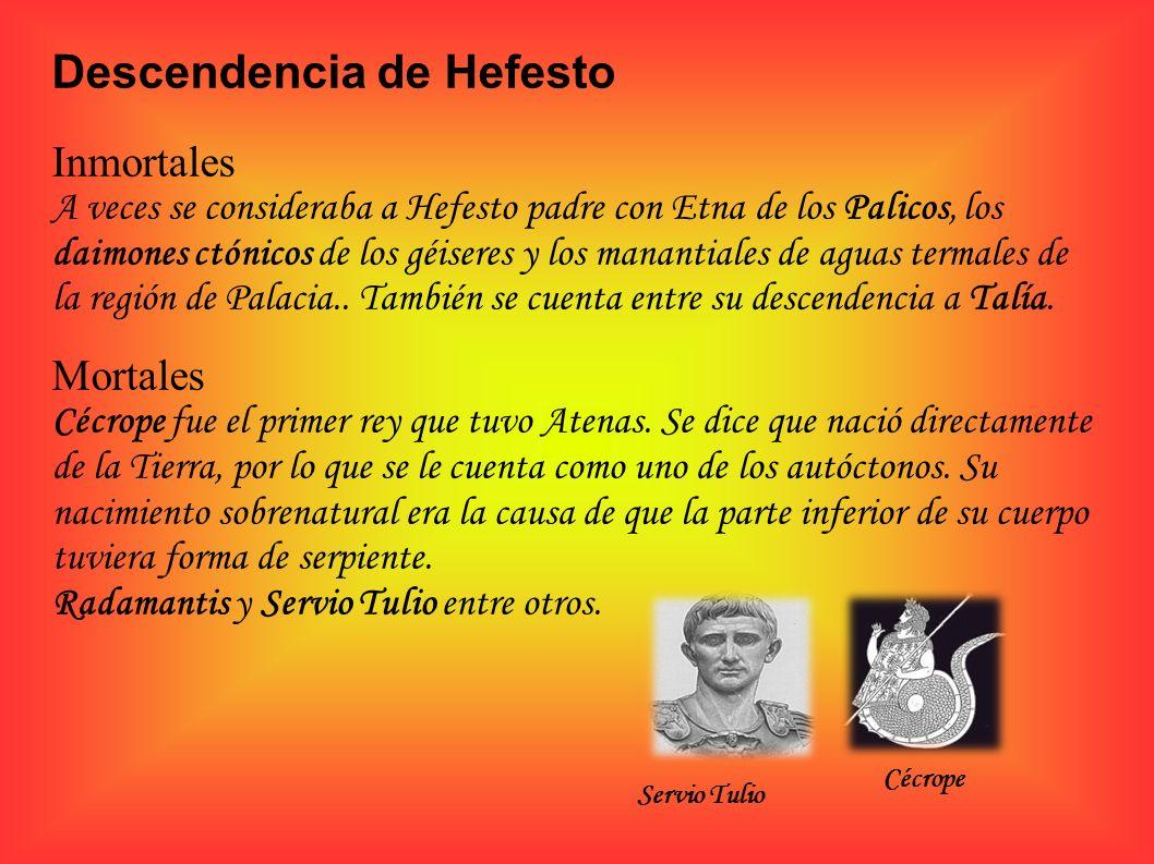 Descendencia de Hefesto