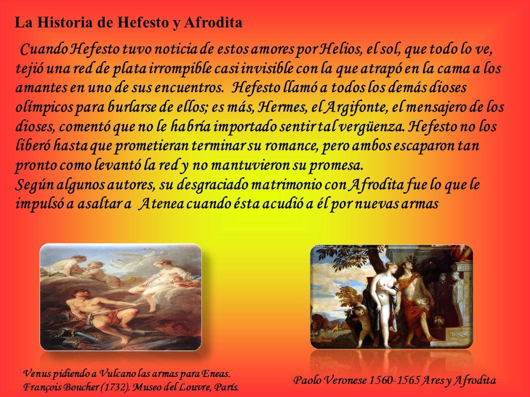 La Historia de Hefesto y Afrodita
