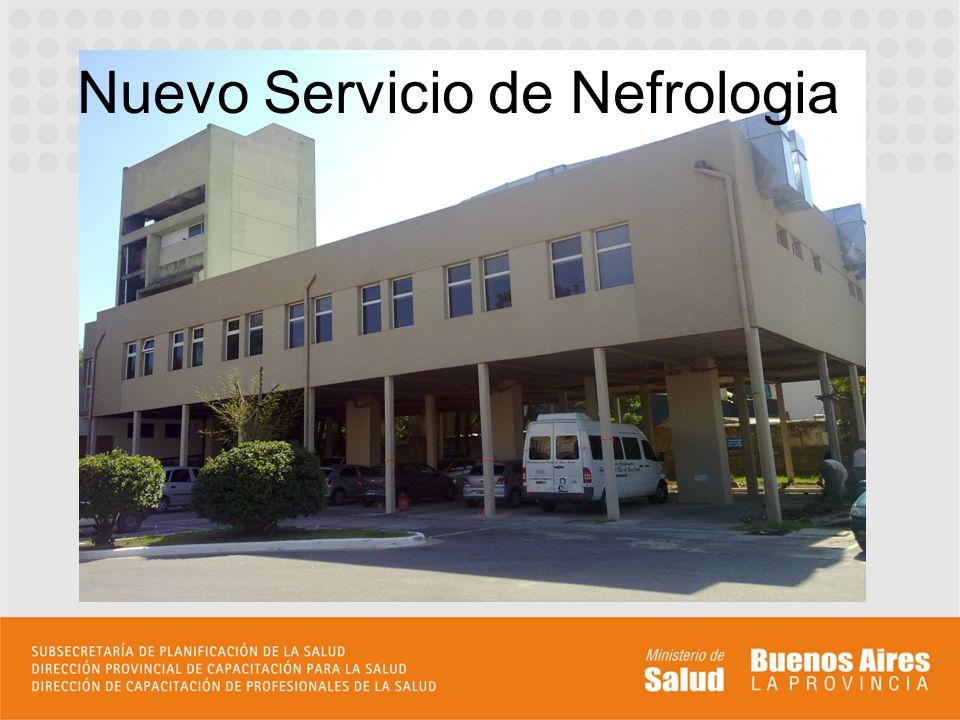 Nuevo Servicio de Nefrologia