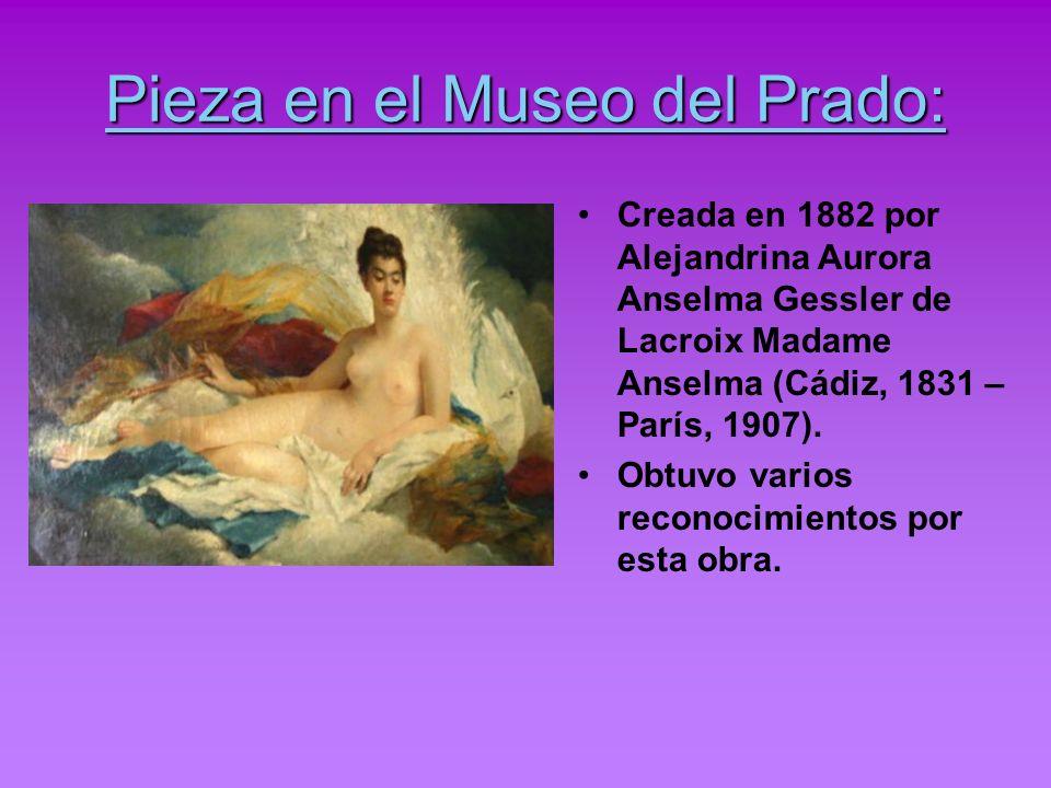 Pieza en el Museo del Prado: