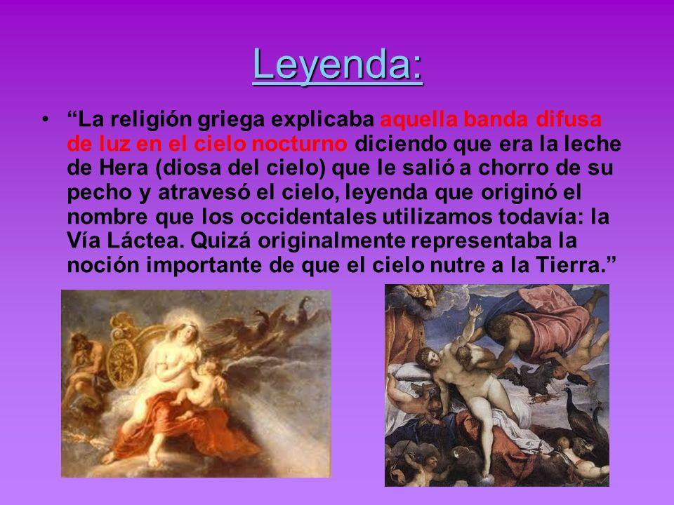 Leyenda: