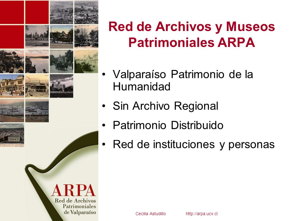Red de Archivos y Museos Patrimoniales ARPA