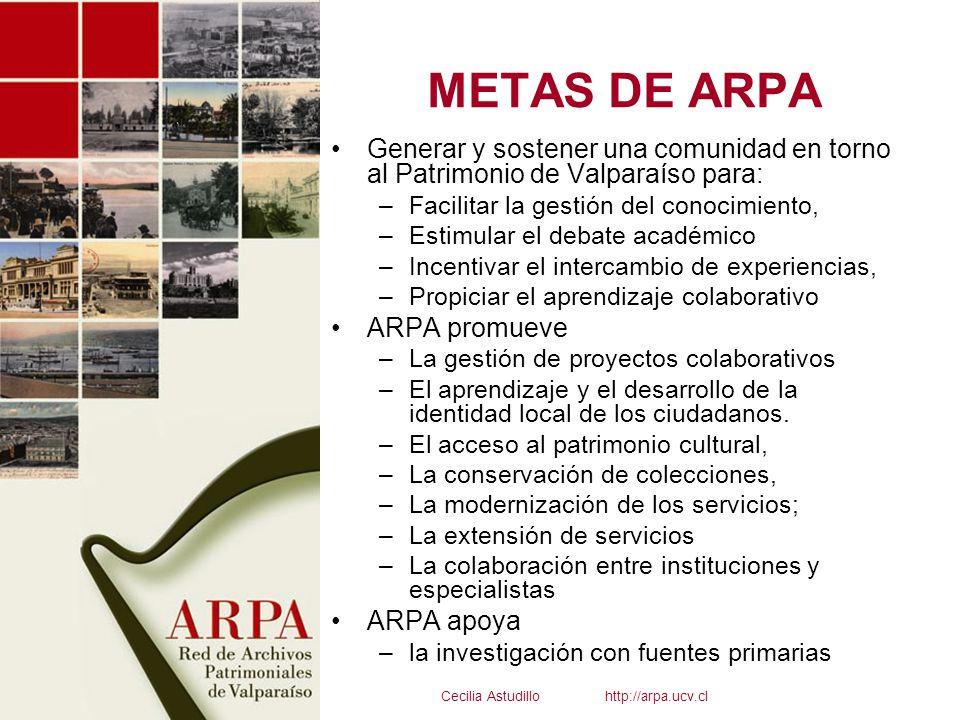 Cecilia Astudillo http://arpa.ucv.cl
