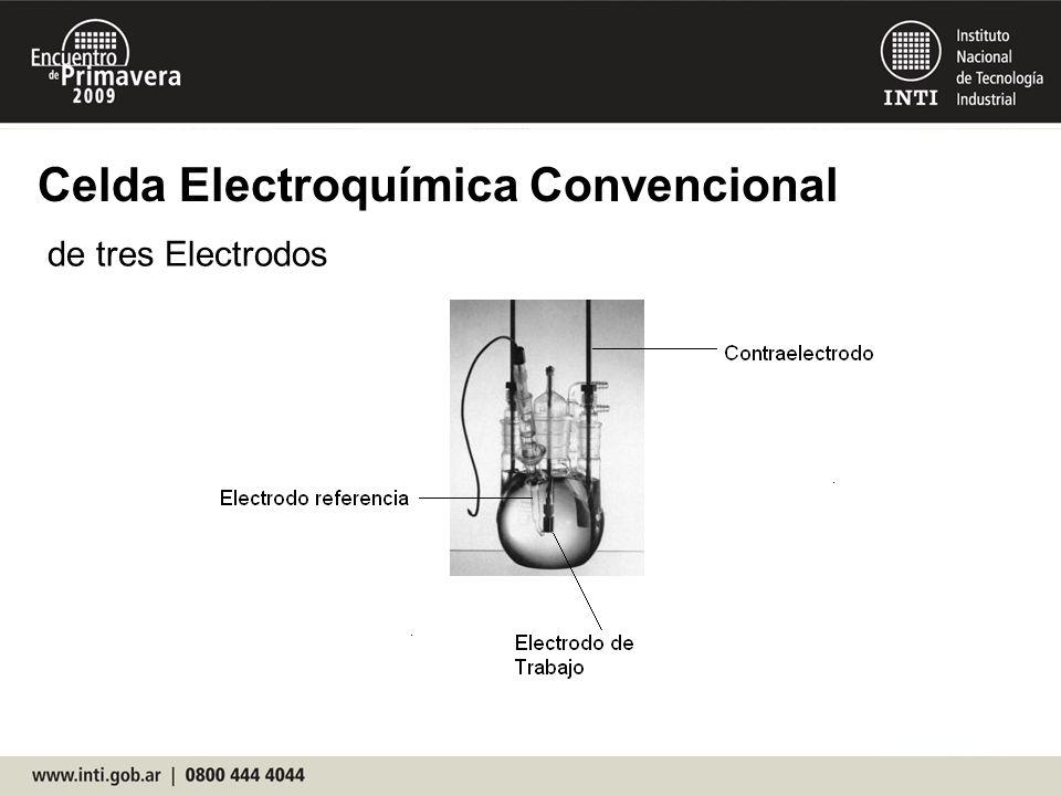 Celda Electroquímica Convencional