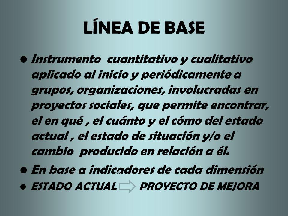 LÍNEA DE BASE