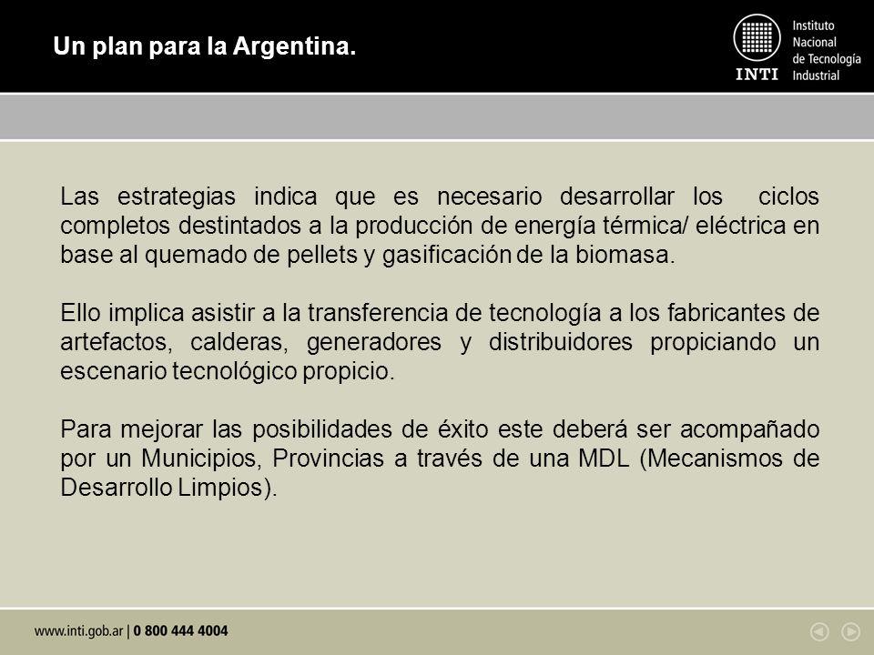 Un plan para la Argentina.