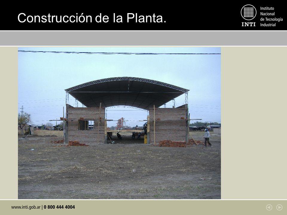 Construcción de la Planta.