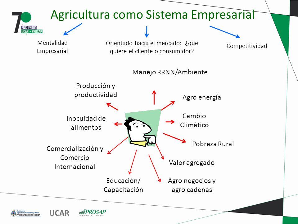 Agricultura como Sistema Empresarial
