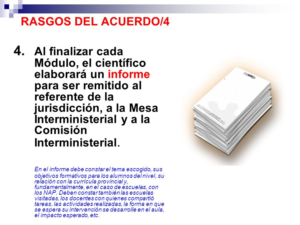 RASGOS DEL ACUERDO/4