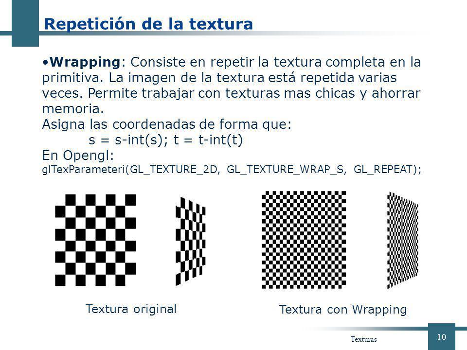 Repetición de la textura