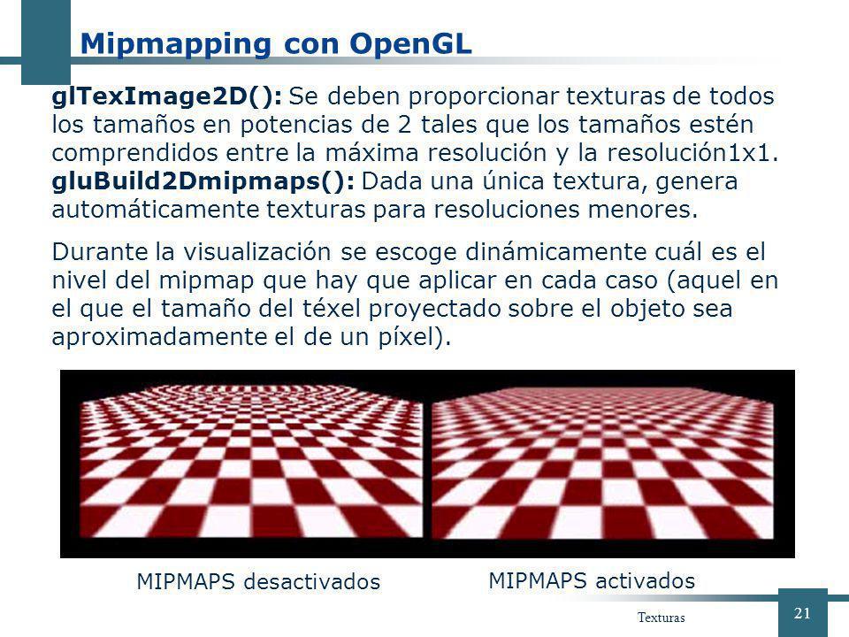 Mipmapping con OpenGL 01 de abril de 2017.