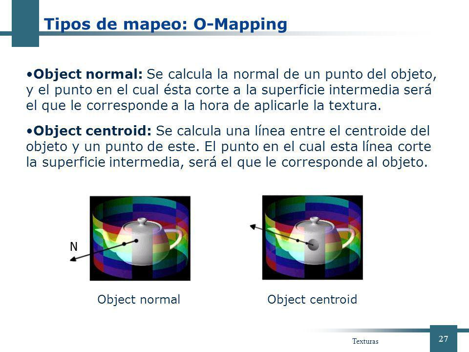 Tipos de mapeo: O-Mapping