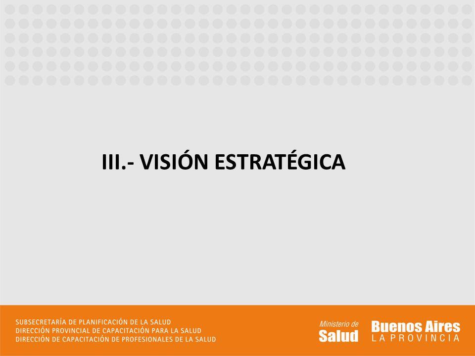 III.- VISIÓN ESTRATÉGICA