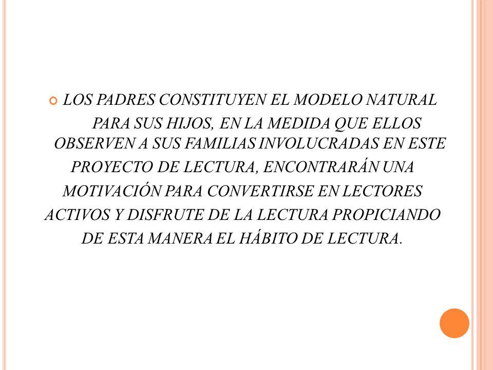 LOS PADRES CONSTITUYEN EL MODELO NATURAL