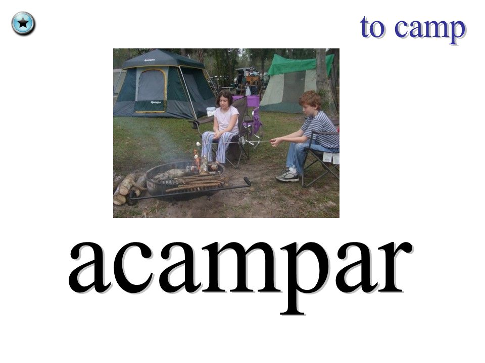 to camp acampar