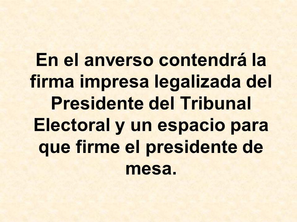Tribunal electoral de la provincia de santa fe ppt descargar for Presidente mesa electoral