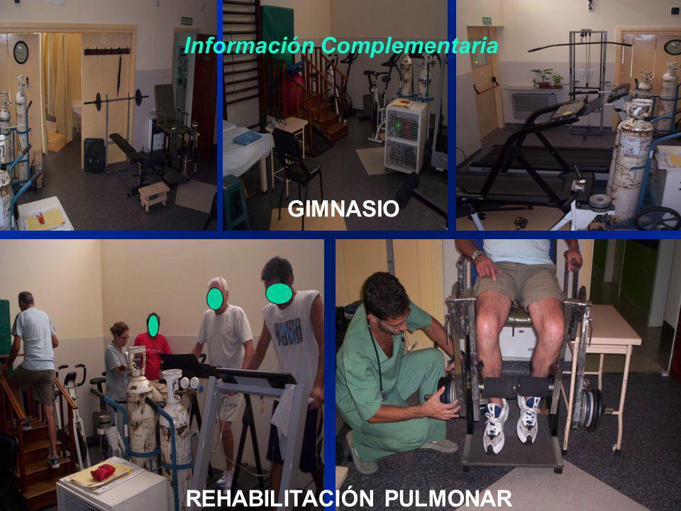 Información Complementaria REHABILITACIÓN PULMONAR