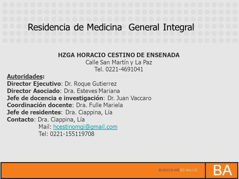 HZGA HORACIO CESTINO DE ENSENADA