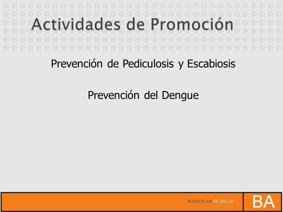 Prevención de Pediculosis y Escabiosis