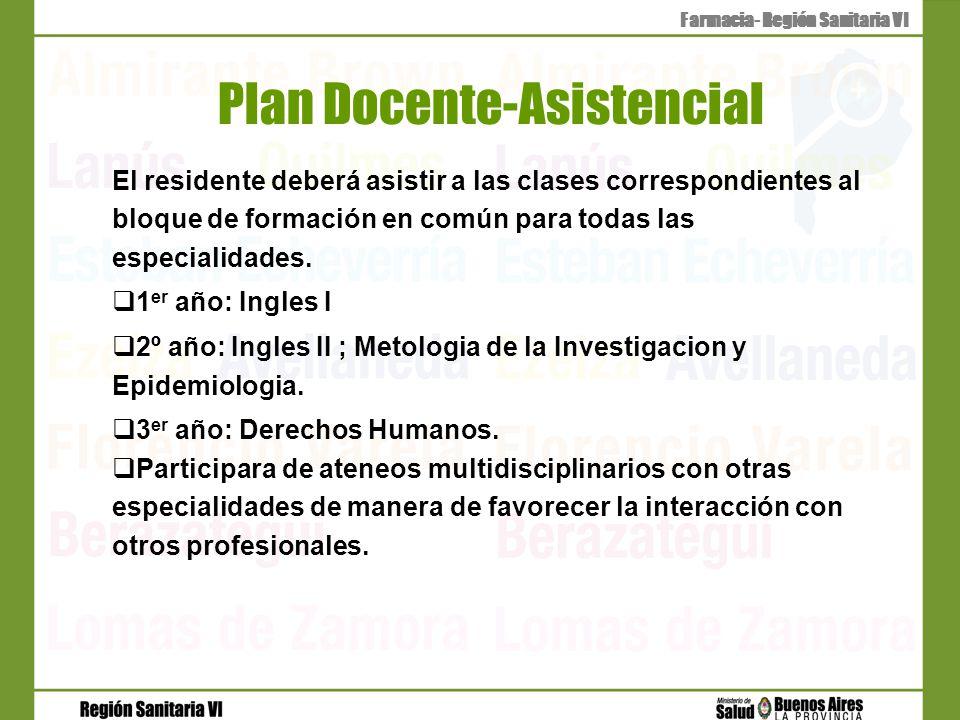 Plan Docente-Asistencial