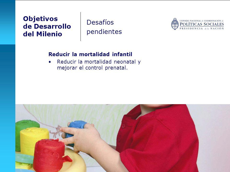 Objetivos de Desarrollo Desafíos del Milenio pendientes