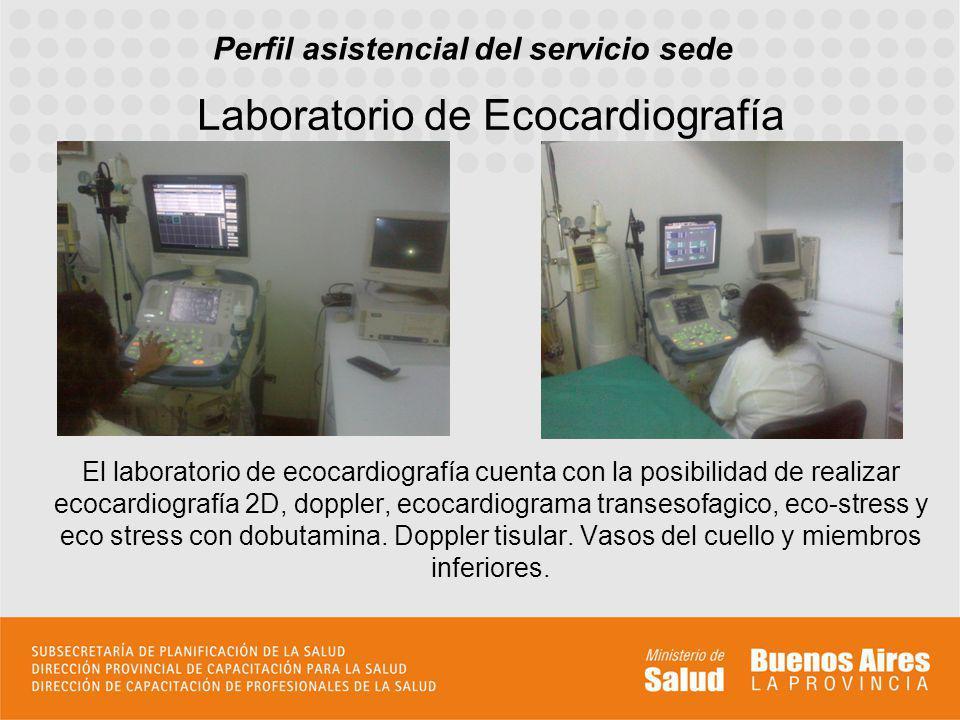 Laboratorio de Ecocardiografía