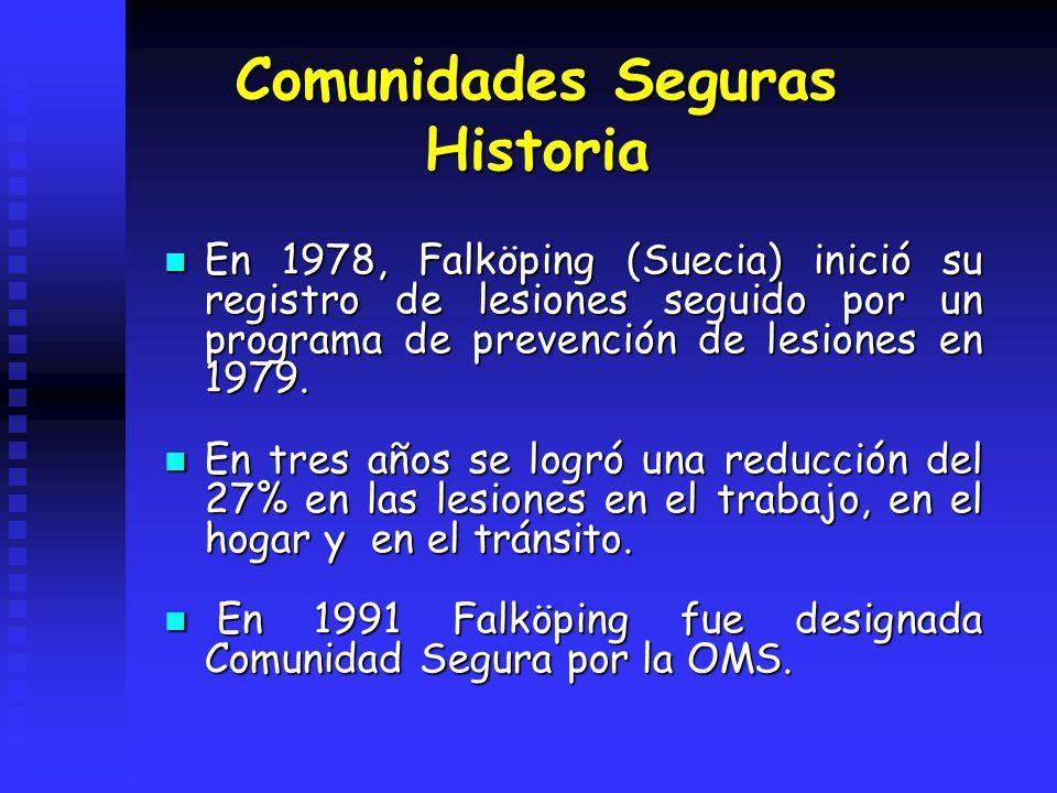 Comunidades Seguras Historia