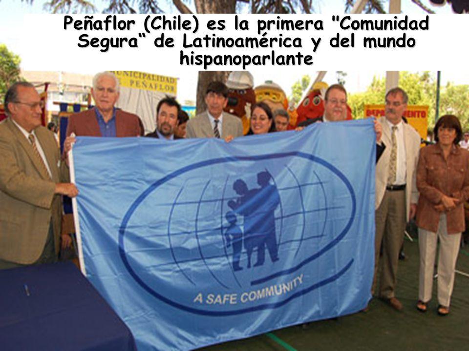 Peñaflor (Chile) es la primera Comunidad Segura de Latinoamérica y del mundo hispanoparlante