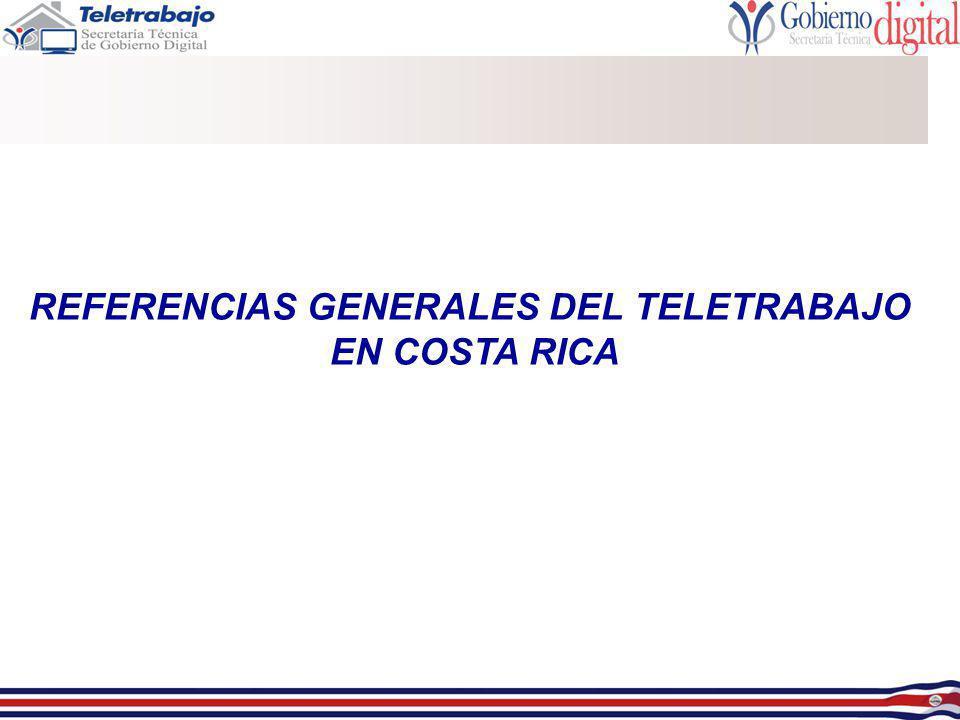 REFERENCIAS GENERALES DEL TELETRABAJO