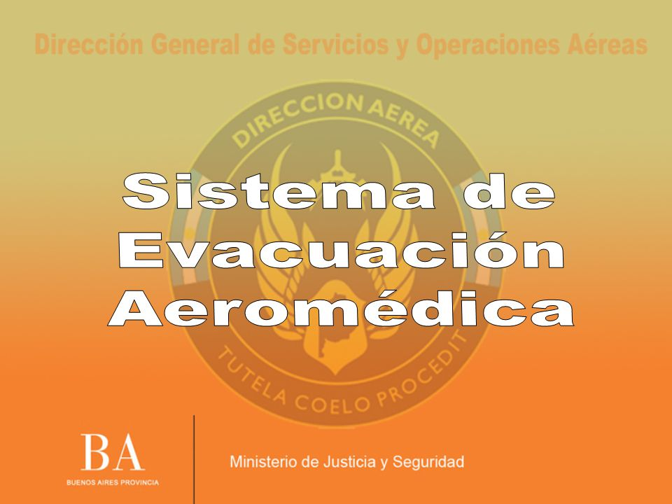 Sistema de Evacuación Aeromédica 28