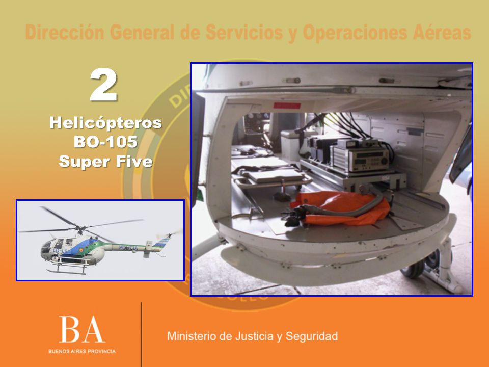 2 Helicópteros BO-105 Super Five
