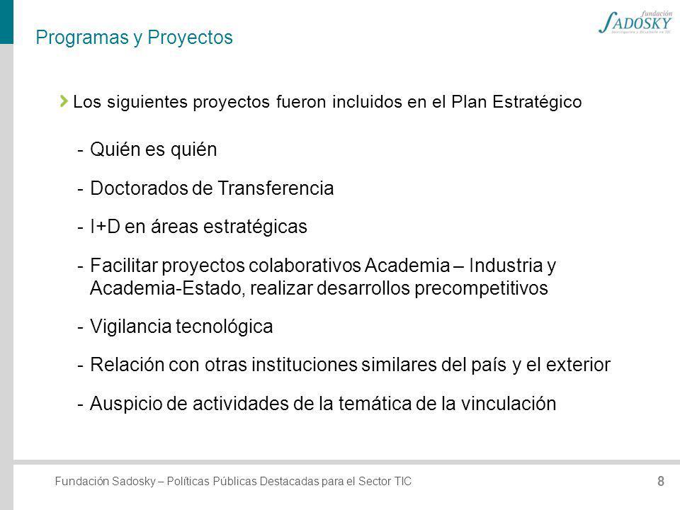 Doctorados de Transferencia I+D en áreas estratégicas