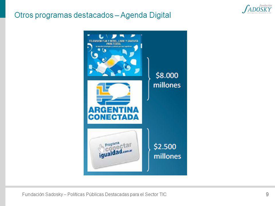 Otros programas destacados – Agenda Digital