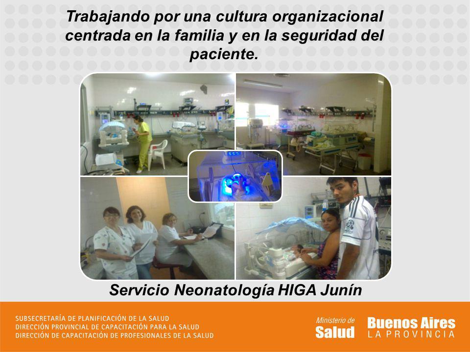 Servicio Neonatología HIGA Junín