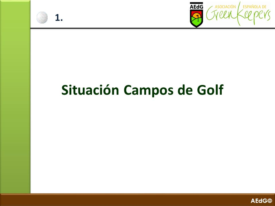 Situación Campos de Golf