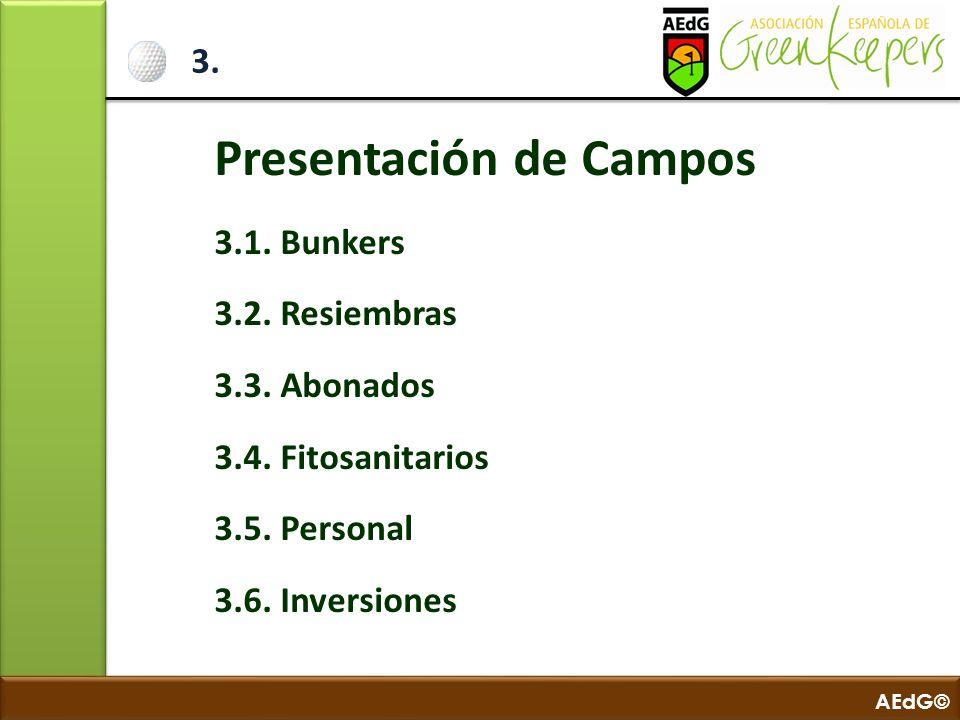 Presentación de Campos