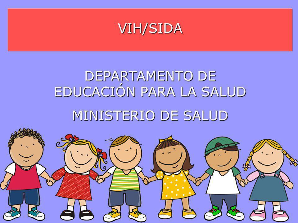 DEPARTAMENTO DE EDUCACIÓN PARA LA SALUD