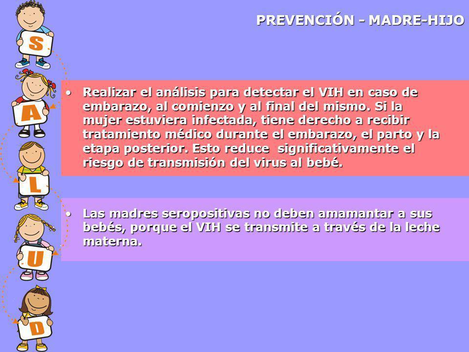 PREVENCIÓN - MADRE-HIJO