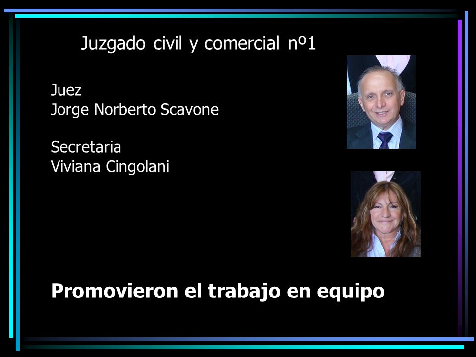 Juzgado civil y comercial nº1