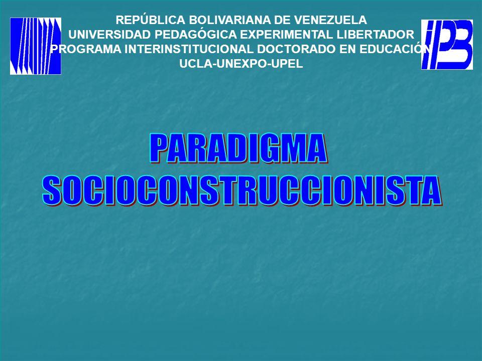 SOCIOCONSTRUCCIONISTA