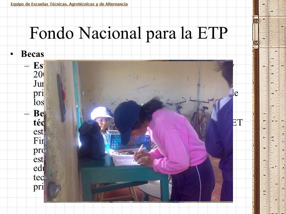 Fondo Nacional para la ETP