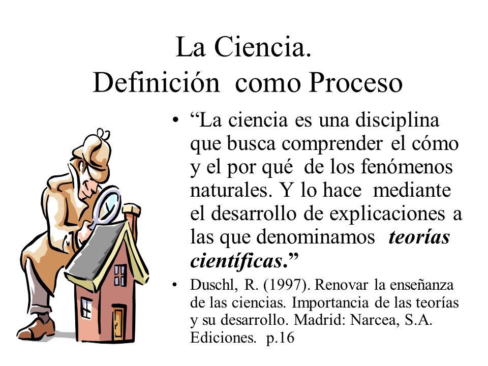 La Ciencia. Definición como Proceso