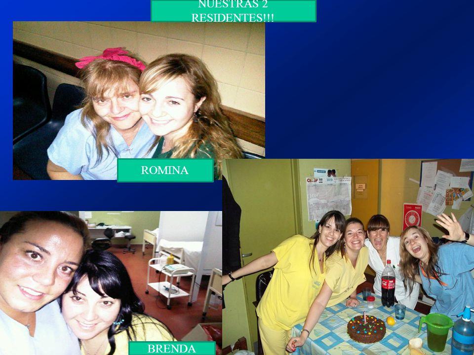 NUESTRAS 2 RESIDENTES!!! ROMINA BRENDA