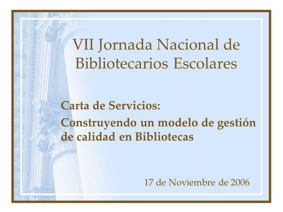 VII Jornada Nacional de Bibliotecarios Escolares